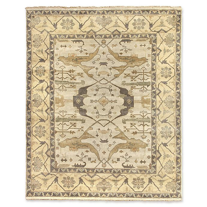 Alternate image 1 for Antique Weave Oushak 8-Foot x 10-Foot Area Rug in Khaki