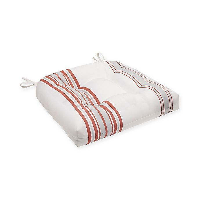 Alternate image 1 for Madison Park Sandbar 3M Scotchgard Outdoor Seat Cushion in Coral