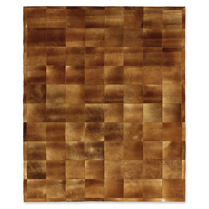 Alternate image 1 for Exquisite Rugs Cowhide Rug in Chocolate