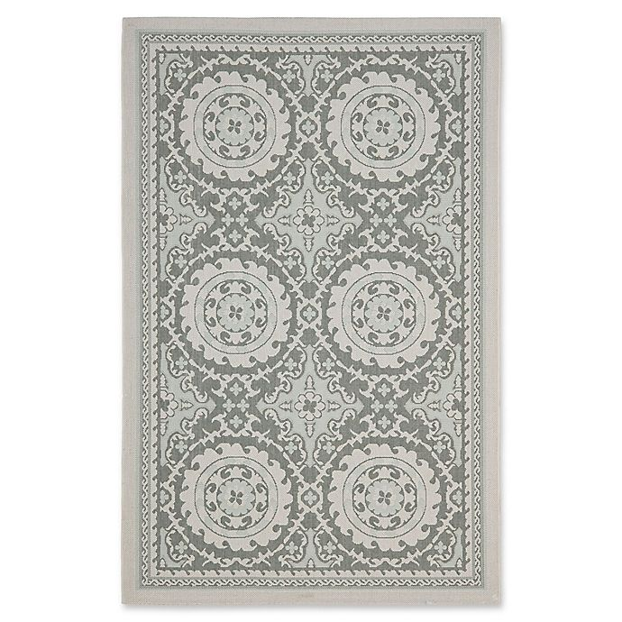 Alternate image 1 for Safavieh Courtyard Indoor/Outdoor Rug