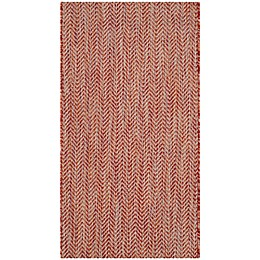 Safavieh Courtyard Chevron Indoor/Outdoor Rug