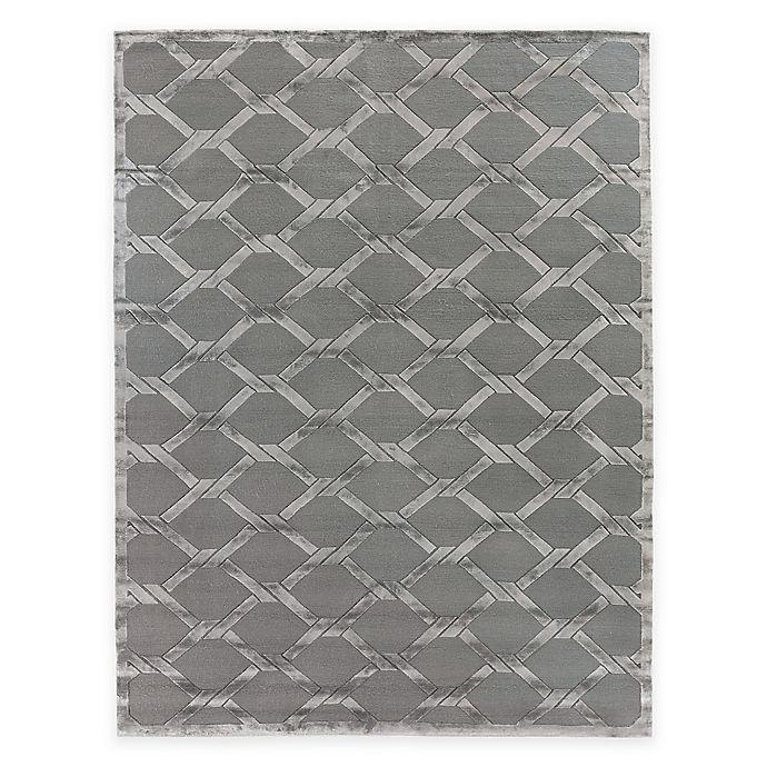 Alternate image 1 for Exquisite Rugs Metro Velvet Twist 8-Foot x 10-Foot Area Rug in Grey