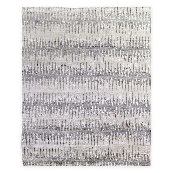 Alternate image 1 for Exquisite Rugs Ikat 8-Foot x 10-Foot Area Rug in Grey
