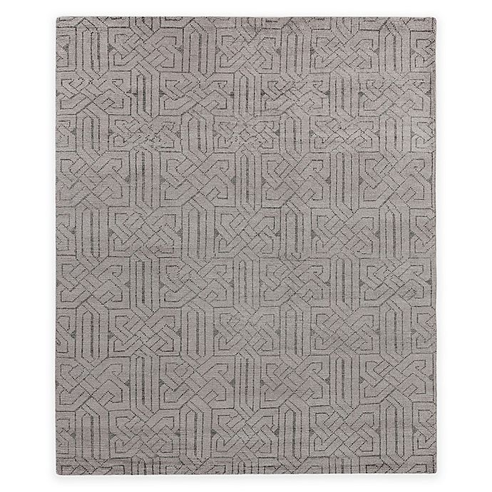 Alternate image 1 for Exquisite Rugs Prague 8-Foot x 10-Foot Area Rug in Silver