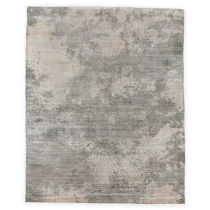 Alternate image 1 for Exquisite Rugs Koda Distressed 8-Foot x 10-Foot Area Rug in Silver