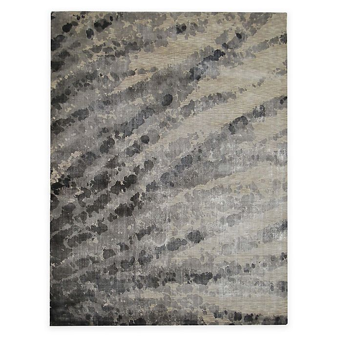 Alternate image 1 for Exquisite Rugs Koda Blotted 8-Foot x 10-Foot Area Rug in Grey