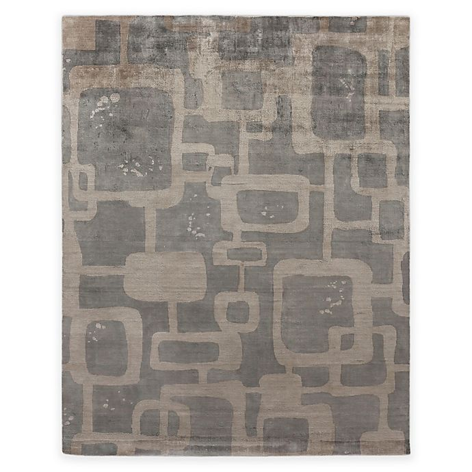 Alternate image 1 for Exquisite Rugs Koda Geometric 8-Foot x 10-Foot Area Rug in Grey/Taupe