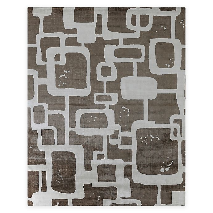 Alternate image 1 for Exquisite Rugs Koda Geometric 8-Foot x 10-Foot Area Rug in Tan/Ivory
