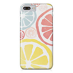Designs Direct Watercolor Lemons Barely There Case for iPhone 7 Plus in Pink