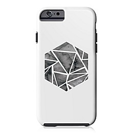 Designs Direct Shattered Hexagon Tough Case for iPhone 6/6S in White