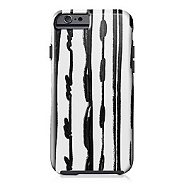 Designs Direct Sketched Lines Tough Case for iPhone 6/6S in Black