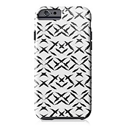Designs Direct Paint Swipes Tough Case for iPhone 6/6S in Black