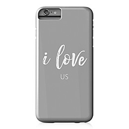 "Designs Direct "" I Love Us"" Barely There Case for iPhone 6 Plus in Grey"