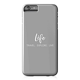 Designs Direct Explore Travel Live Barely There Case for iPhone 6 Plus in Grey