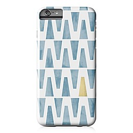 Designs Direct Watercolor Triangles Barely There Case for iPhone 6 Plus in Blue