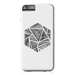 Designs Direct Shattered Hexagon Barely There Case for iPhone 6 Plus in White