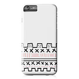 Designs Direct Geometric Print Barely There Case for iPhone 6 Plus in Pink/Black