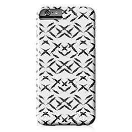 Designs Direct Paint Swipes Barely There Case for iPhone 6 Plus in Black