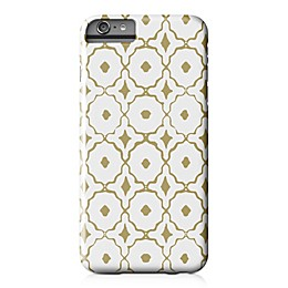 Designs Direct Moroccan Tile Barely There Case for iPhone 6 Plus in Gold/White