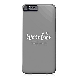 Designs Direct Totally Adults Barely There Case for iPhone 6/6S in Grey