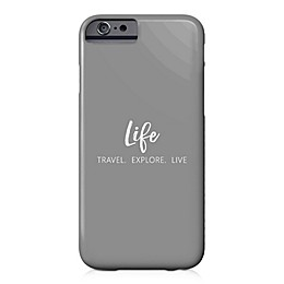 Designs Direct Explore, Travel, Live Barely There Case for iPhone 6/6S in Grey