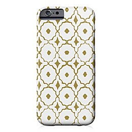 Designs Direct Moroccan Tile Barely There Case for iPhone 6/6S in Gold