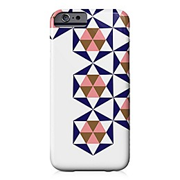 Designs Direct Geometric Stars Barely There Case for iPhone 6/6S in Blue