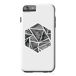 Designs Direct Shattered Hexagon Tough Case for iPhone 6 Plus in White