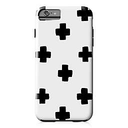Designs Direct Swiss Cross Tough Case for iPhone 6 Plus in Black
