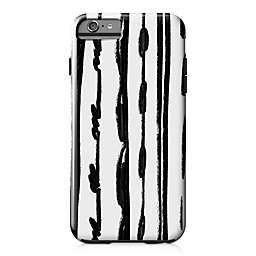 Designs Direct Sketched Lines Tough Case for iPhone 6 Plus in Black