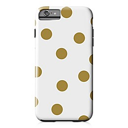 Designs Direct Pops Tough Case for iPhone 6 Plus in Gold/White