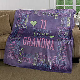Personalizec Reasons Why For Her PZ 50-Inch x 60-Inch Fleece Blanket