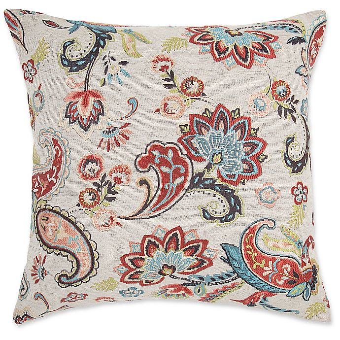 Make Your Own Pillow Chantilly Square Throw Pillow Cover