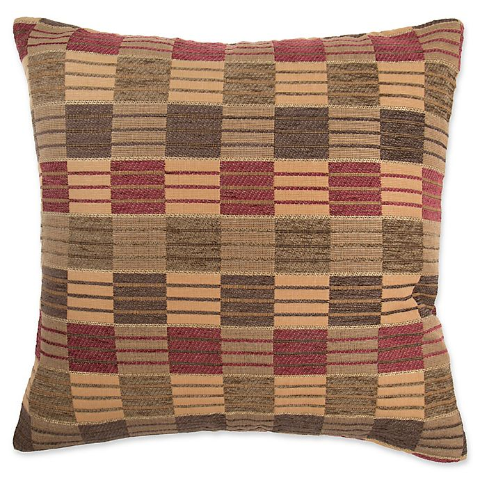 Make Your Own Pillow Stripes And Ladder Square Throw