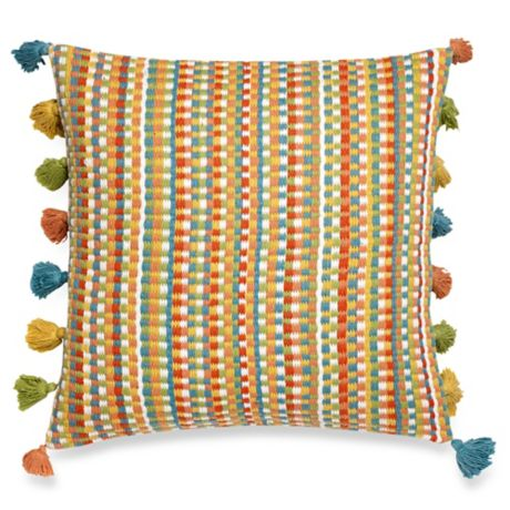 Make Your Own Pillow Bella Rug Square Throw Pillow Cover