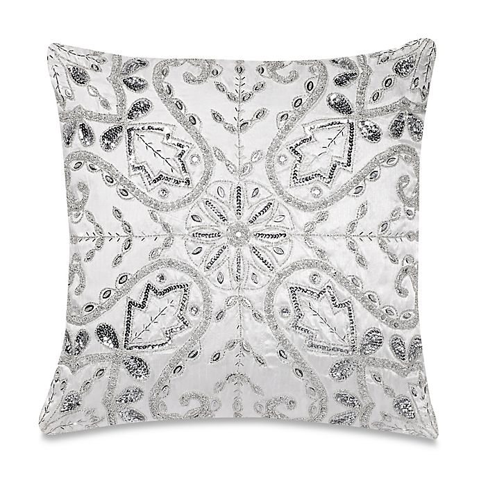 Make Your Own Pillow Emma Crystal Square Throw Pillow