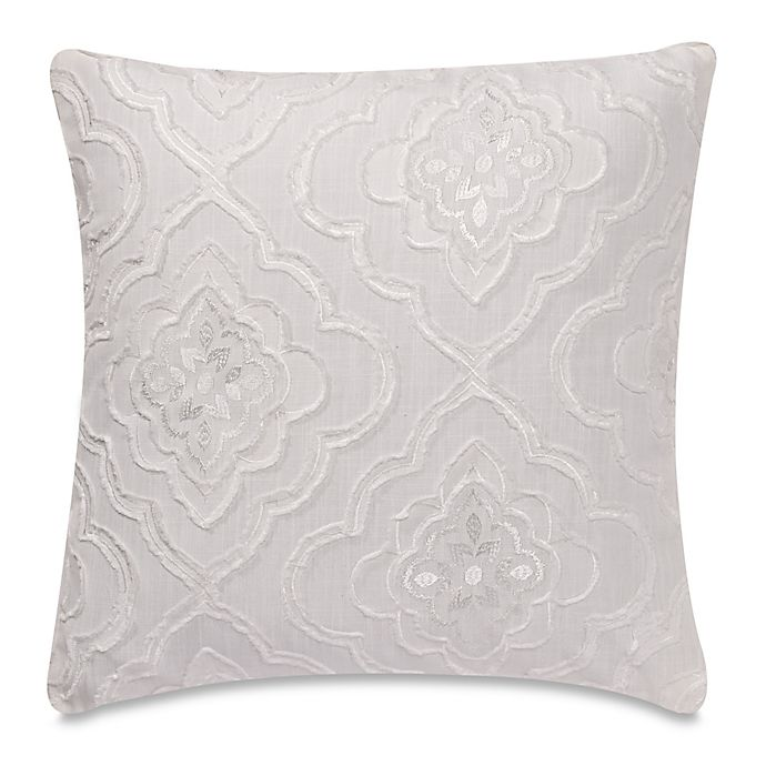My Throw Own Pillow Mystic Throw Pillow Cover In White