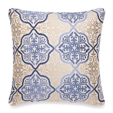 make your own pillow omnia square throw pillow cover bed bath beyond. Black Bedroom Furniture Sets. Home Design Ideas