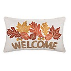 Welcome Rectangle Throw Pillow