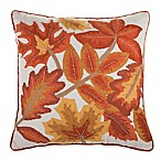 Leaves Square Throw Pillow