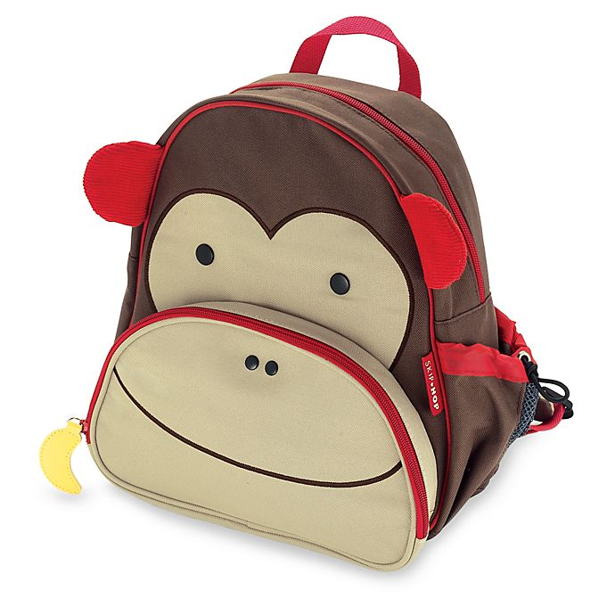 Alternate image 1 for SKIP*HOP® Zoo Packs Little Kid Backpacks in Monkey