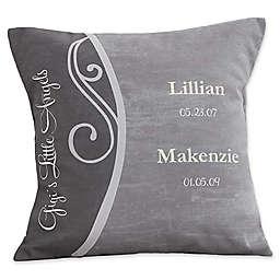 My Grandkids Keepsake Square Throw Pillow