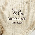 Wedded Pair Wedding & Anniversary Afghan