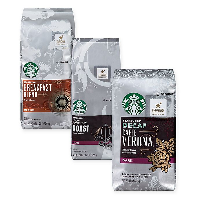Alternate image 1 for Starbucks® Whole Bean and Ground Coffee Collection