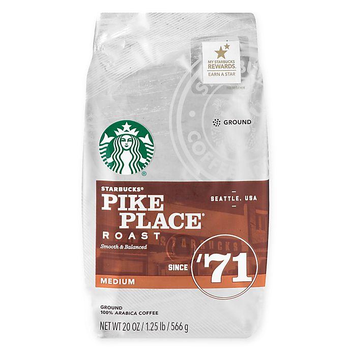 Alternate image 1 for Starbucks® 20 oz. Pike Place® Roast Ground Coffee