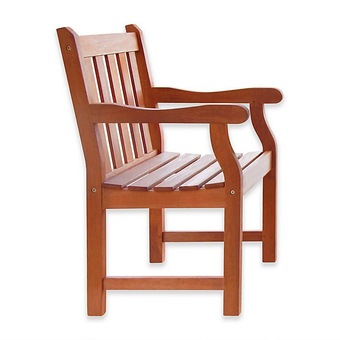 Alternate image 1 for Vifah Classic Wood Armchair in Natural