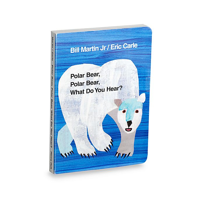 Alternate image 1 for Polar Bear Polar Bear What Do You Hear? Board Book by Eric Carle