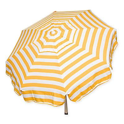 6-Foot Round Italian Beach Umbrella