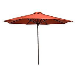 9-Foot Wood Classic Umbrella