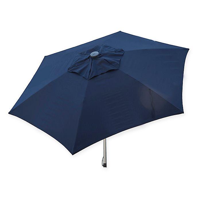 Alternate image 1 for Destinationgear 8.5-Foot Push Up Market Style Umbrella